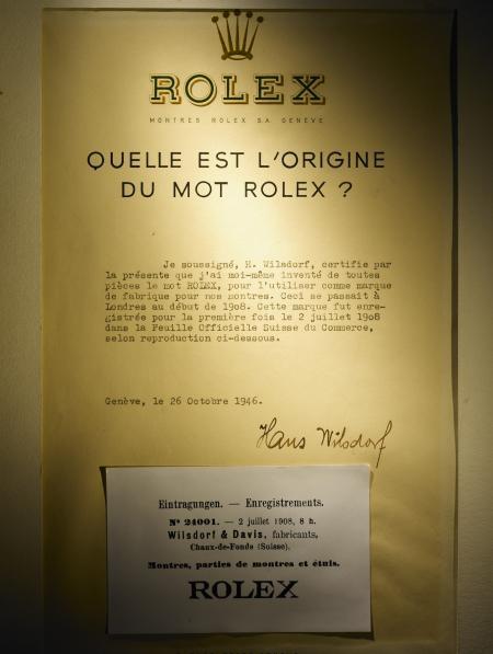 Rolex original certificate - 1908