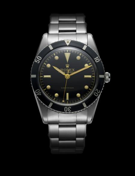 First Submariner - 1953 - ©Rolex/Jean-Daniel Meyer