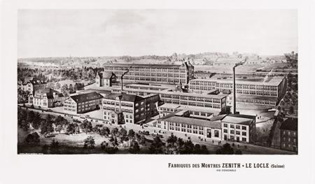 Fabrique de Montre Zenith - Le Locle (Suisse)
