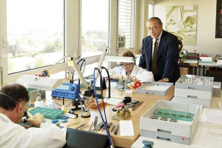 de GRISOGONO's watchmaking workshop