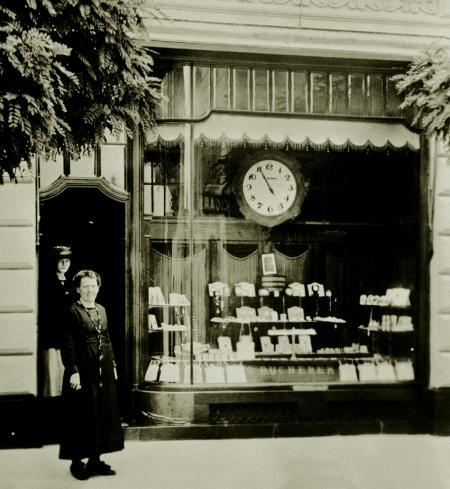 Fisrt shop at Lucerne