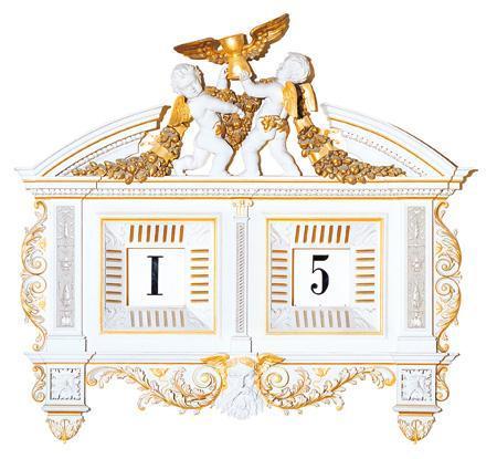 Digital Five-Minute clock - 1841