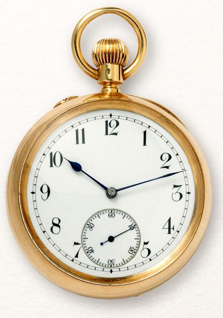 Chronometer pocket watch with tourbillon - 1892
