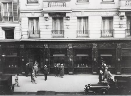 The Parisian Cartier boutique in 1899