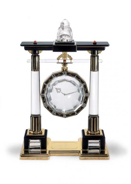 Portique mystery clock, 1923