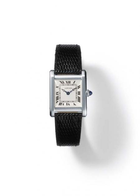 Tank wristwatch, 1920