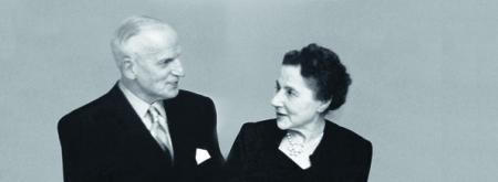 1911 - Eugène Blum and Alice Levy