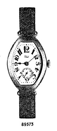1912 - Launch of the first Ebel wristwatch