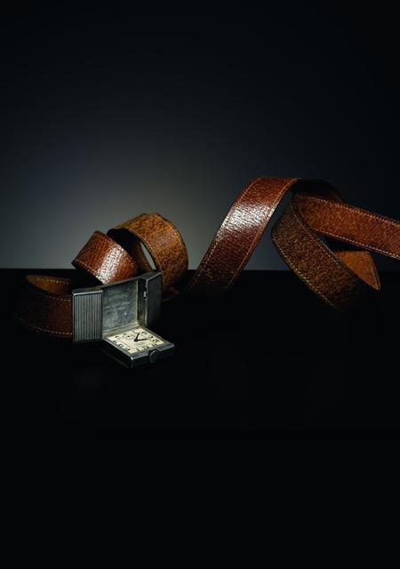 Belt watch around 1930