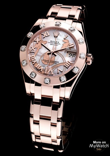 Datejust Special Edition - Everose Gold - White Mother-of-Pearl Dial - Rolex