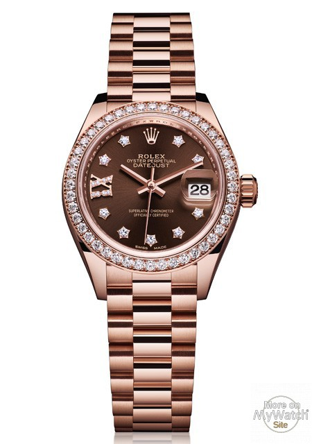Watch Rolex Lady Datejust 28 Oyster Perpetual 279135 Rbr