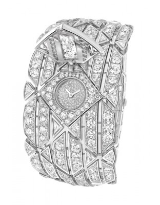 Signature Diamant Secret Watch