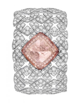 Signature Morganite Secret Watch