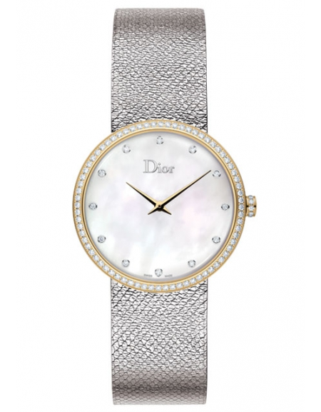 LA D DE DIOR SATINE GOLD AND STEEL