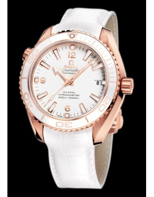 Seamaster Planet Ocean Ceragold 42 mm White Planet St.Moritz