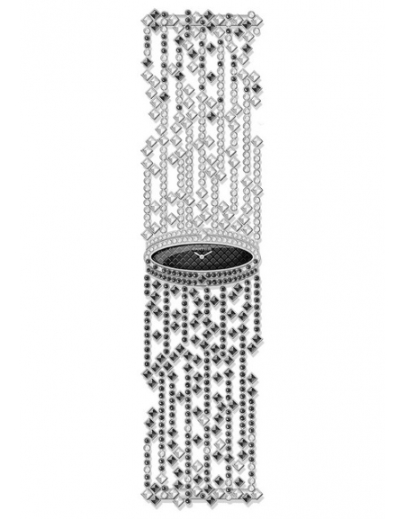 Cartier Libre Baignoire Etoilée or gris diamants