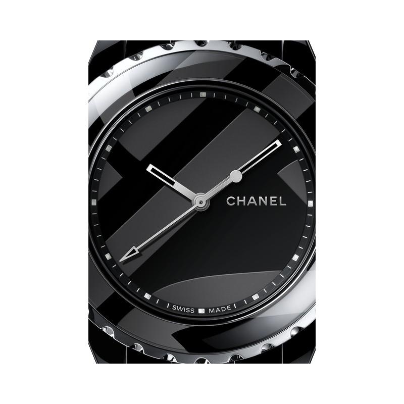 the latest dfc2f 2bca1 Watch Chanel J12 Untitled   J12 H5581 Black Ceramic - Black ...