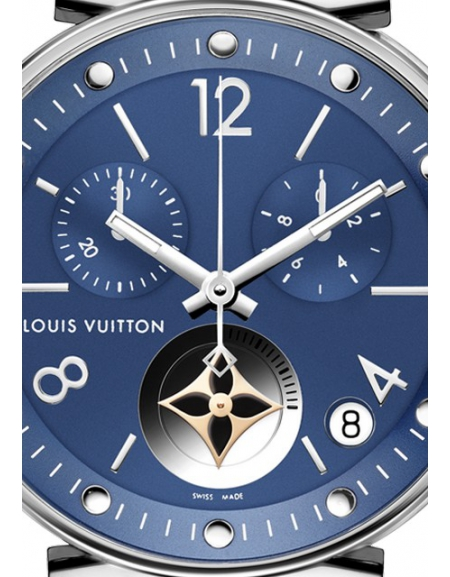 TAMBOUR MOON STAR BLUE CHRONOGRAPHE