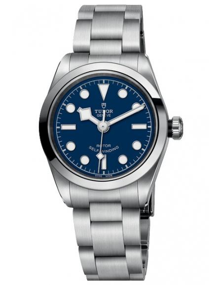 BLACK BAY 32 Cadran bleu bracelet Acier
