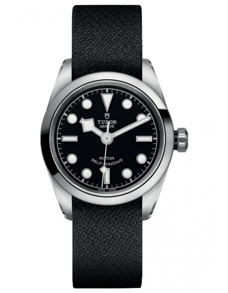 BLACK BAY 36 Cadran Noir Strap Noir Fabric