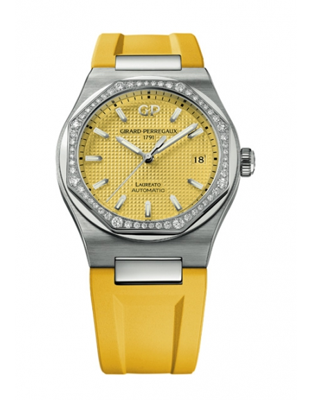 Laureato 38mm summer edition Giallo Luce