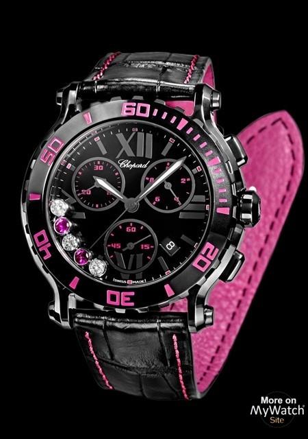 Happy Sport Chrono Mystery Pink