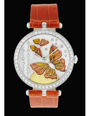 Lady Arpels Papillon Orange Solaire
