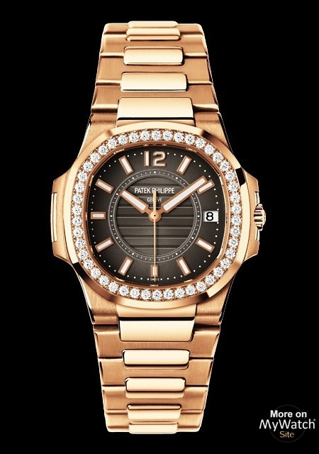 Watch Patek Philippe Nautilus Dame Nautilus 7010 1r Setted Pink