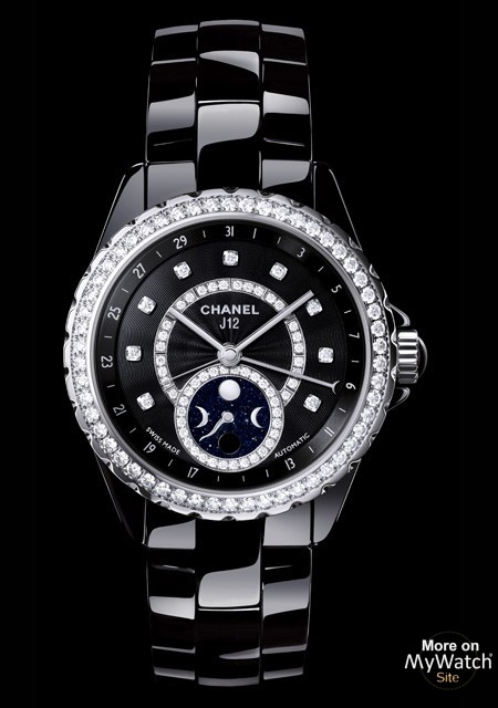 2d72c95f150b Watch Chanel J12 Moonphase
