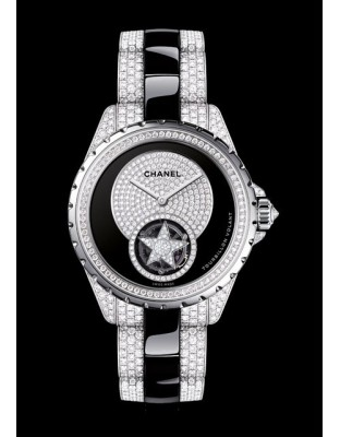 J12 Tourbillon Volant Diamants