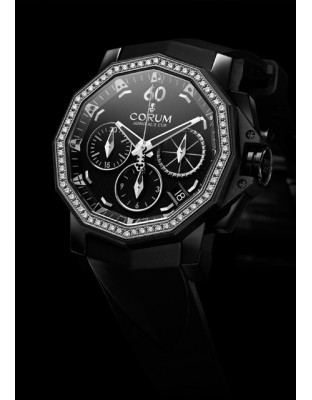 Admiral's Cup Black Chronograph 40