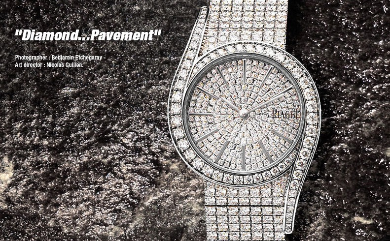 PIAGET Limelight Gala - White gold paved by diamonds - Quartz movement